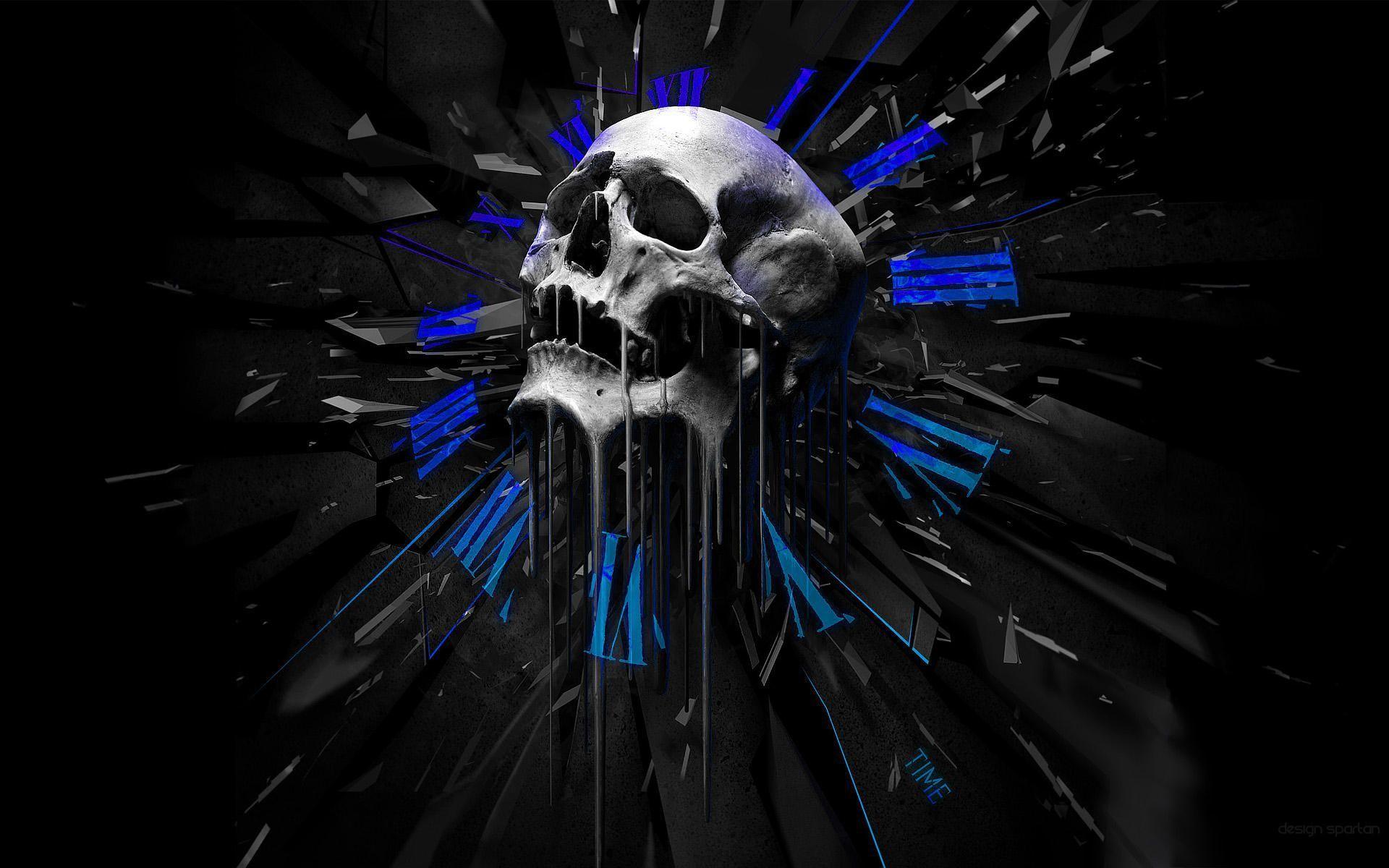 30 Pics Of 3D Skull In HD Widescreen