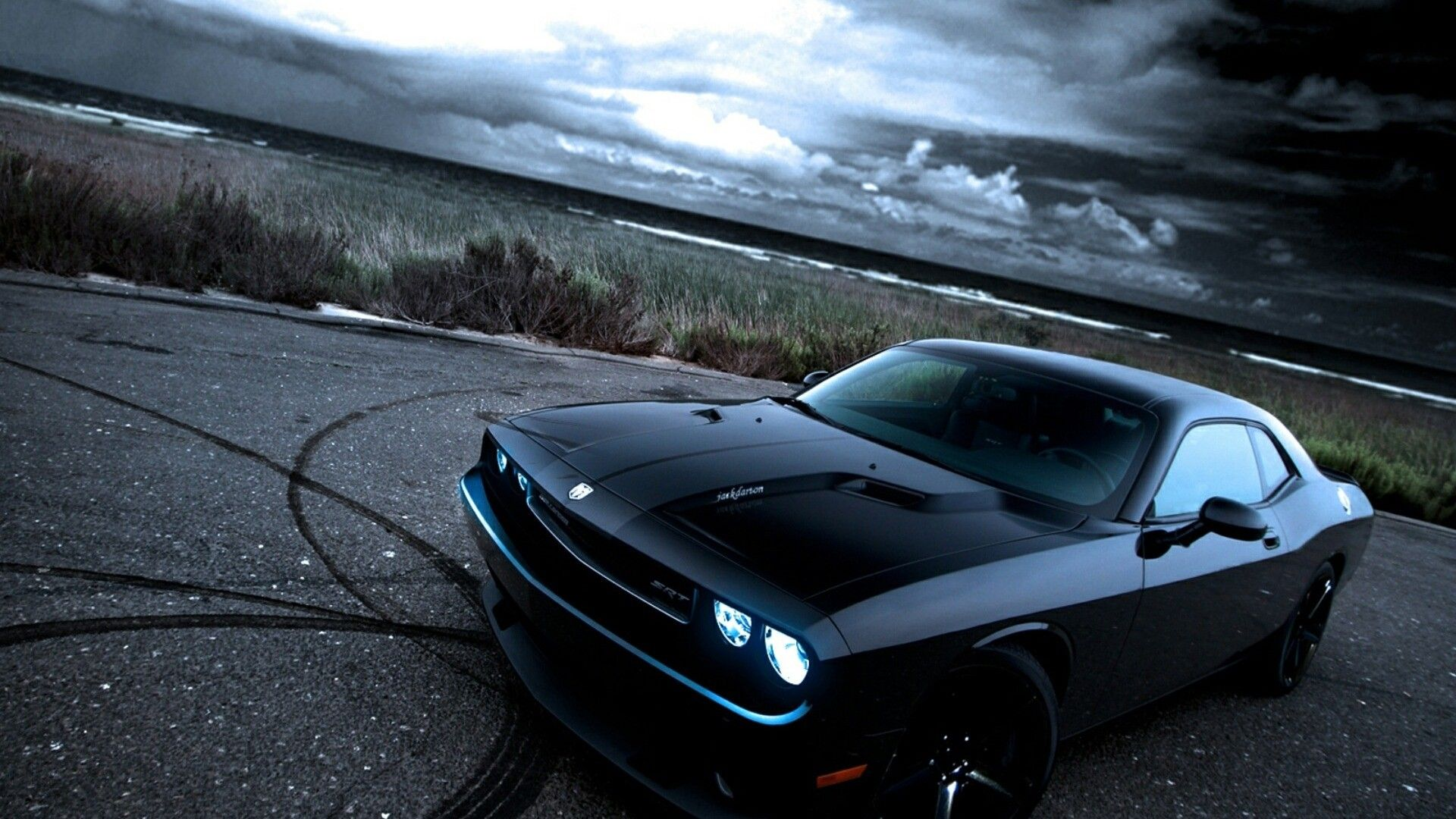 High Definition American Muscle Cars Wallpaper High Quality
