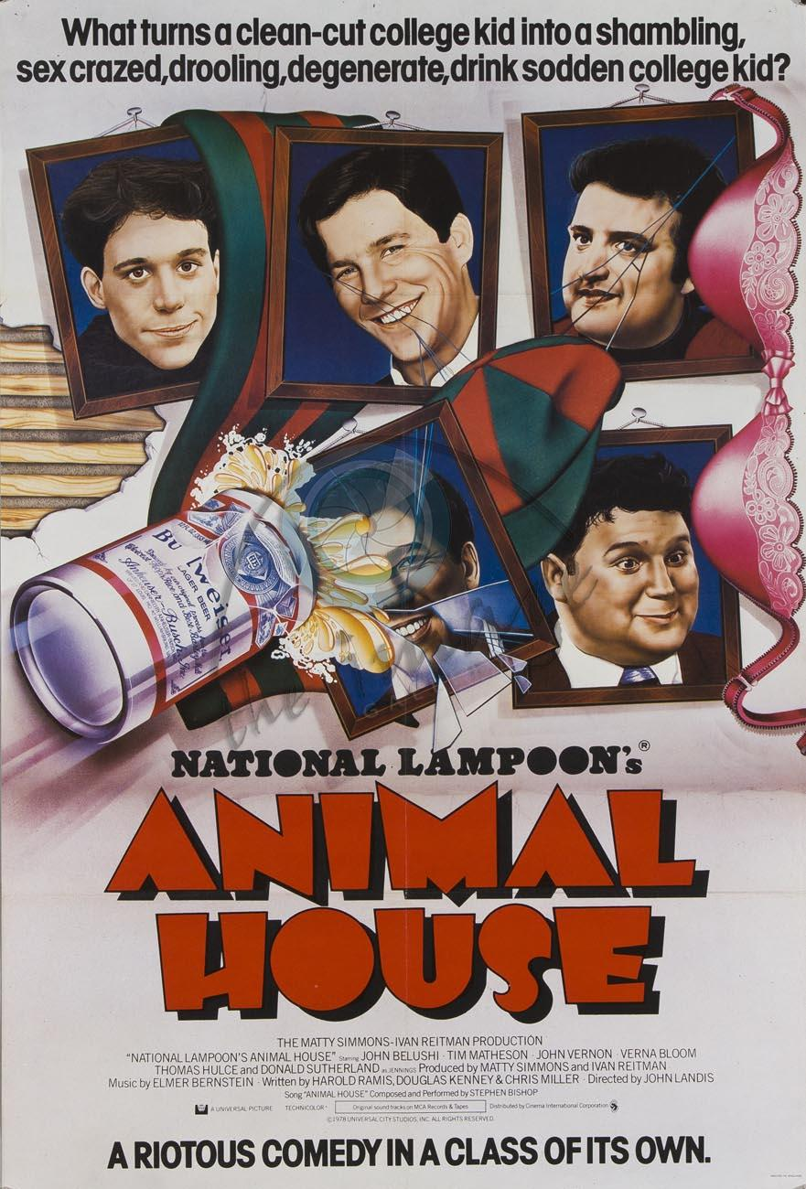 Animal house movie poster wallpaper