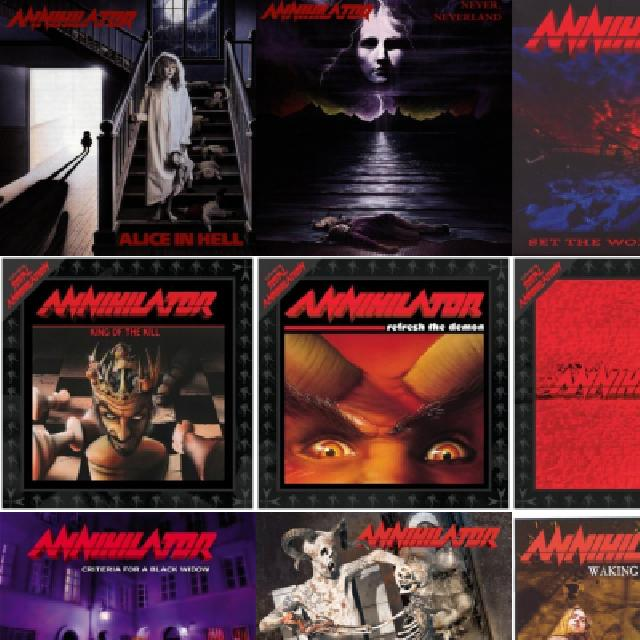 Annihilator - Alice In Hell - 1989 FULL ALBUM - VidInfo