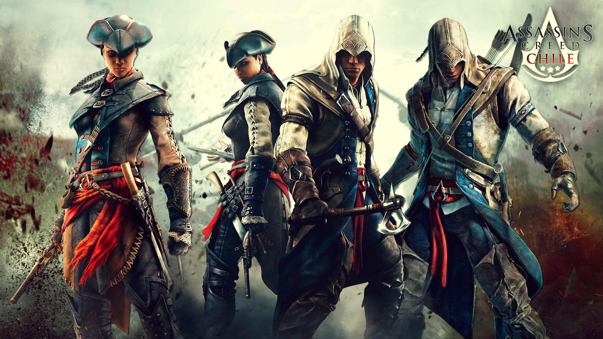 Assassin creed 3 wallpaper impremedia assassins creed 3 wallpaper voltagebd Gallery
