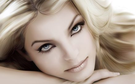 Beautiful Woman Face Wallpaper HD
