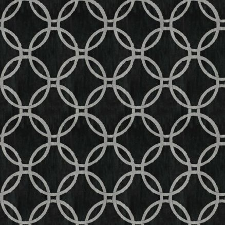 Black Geometric Picture