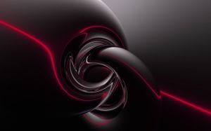 Black Red Abstract Wallpaper