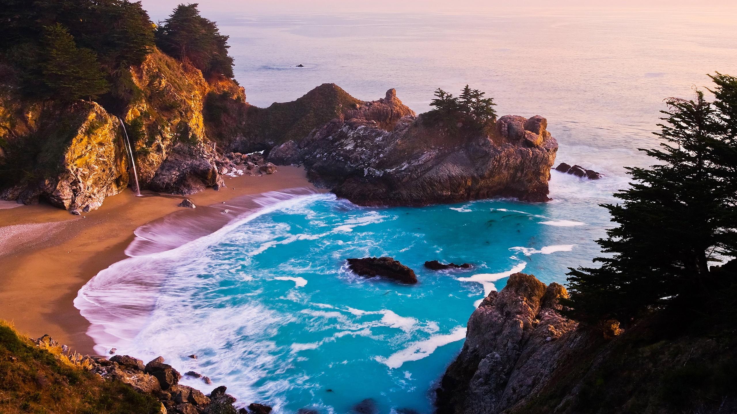 Group Of California Beach Widescreen Wallpaper