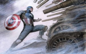 Captain America Comic