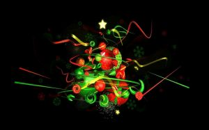 Christmas Abstract Pic