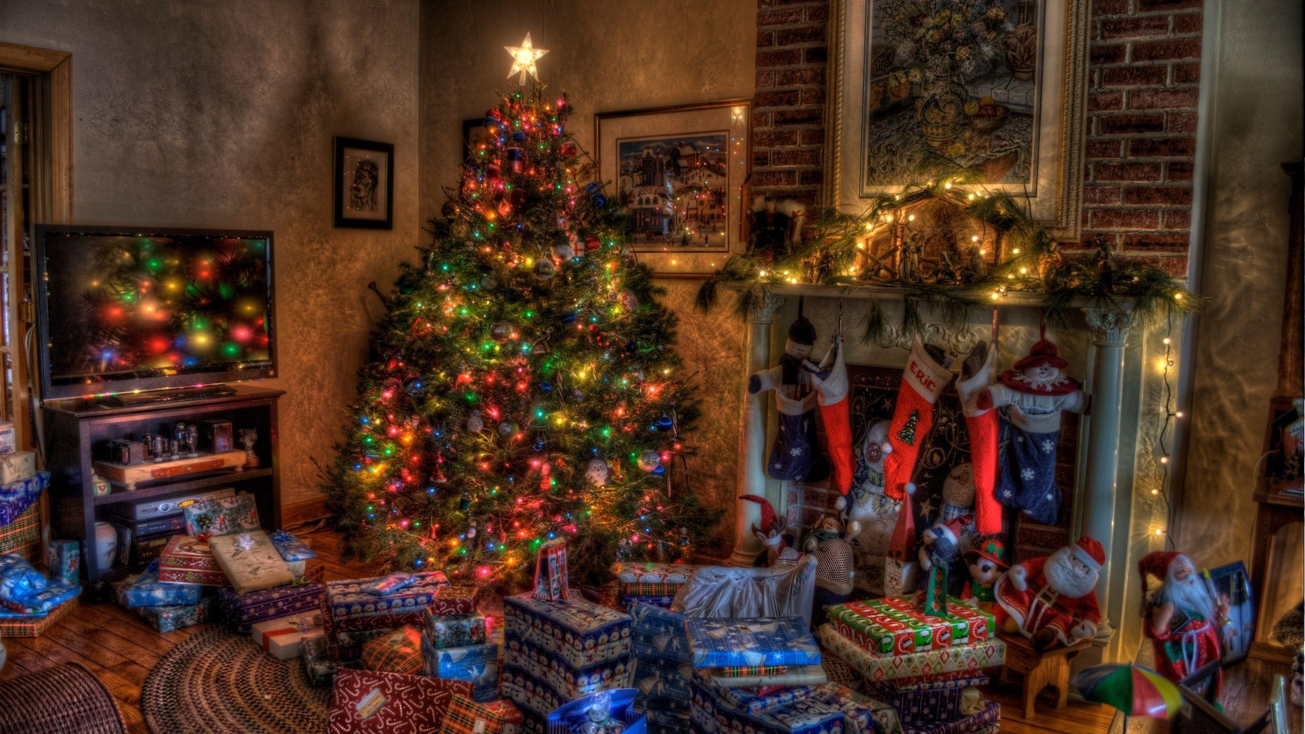 christmas home high definition wallpapers for free