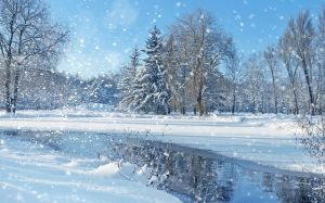 Christmas Landscapes Wallpaper