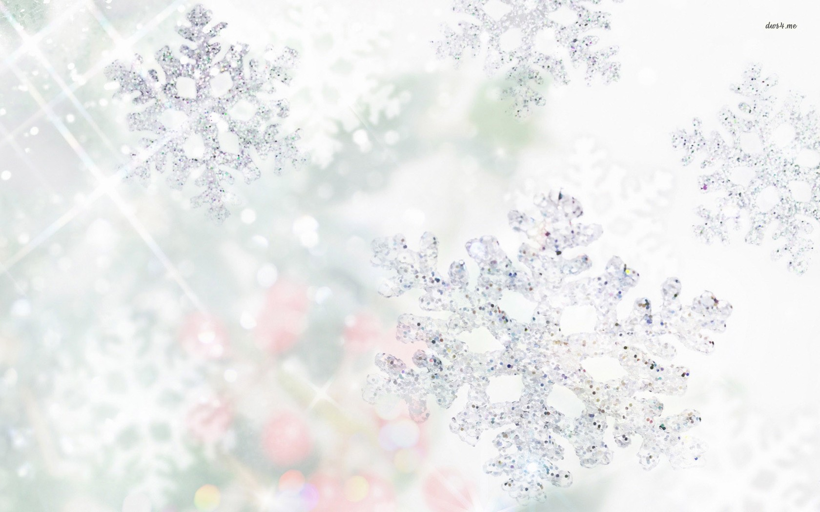 Snow Flakes Wallpaper