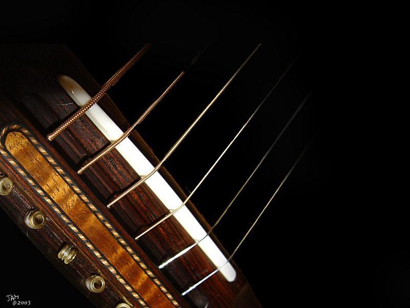 Spanish Classical Guitar Wallpaper