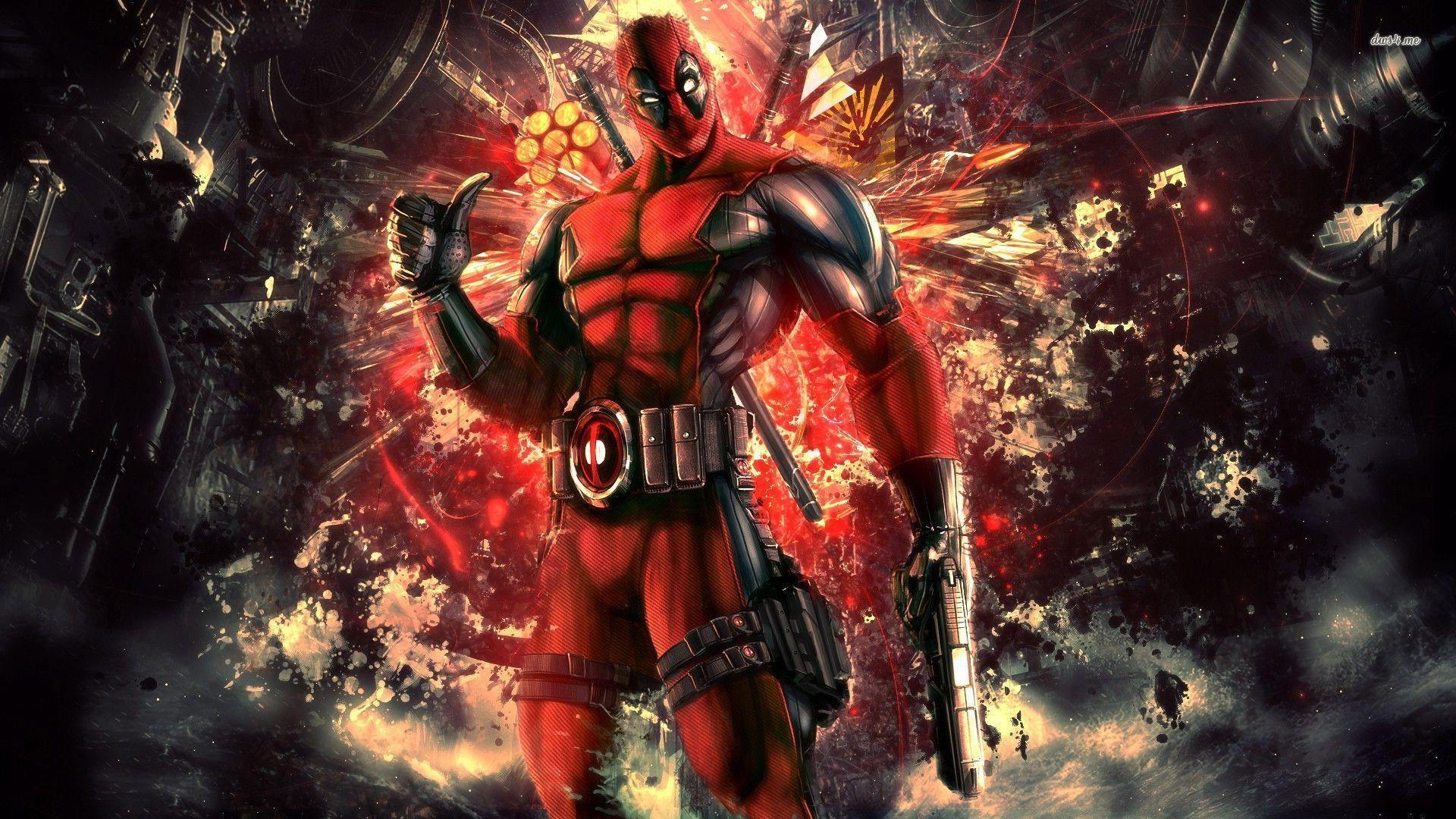 Free Best Deadpool Wallpaper