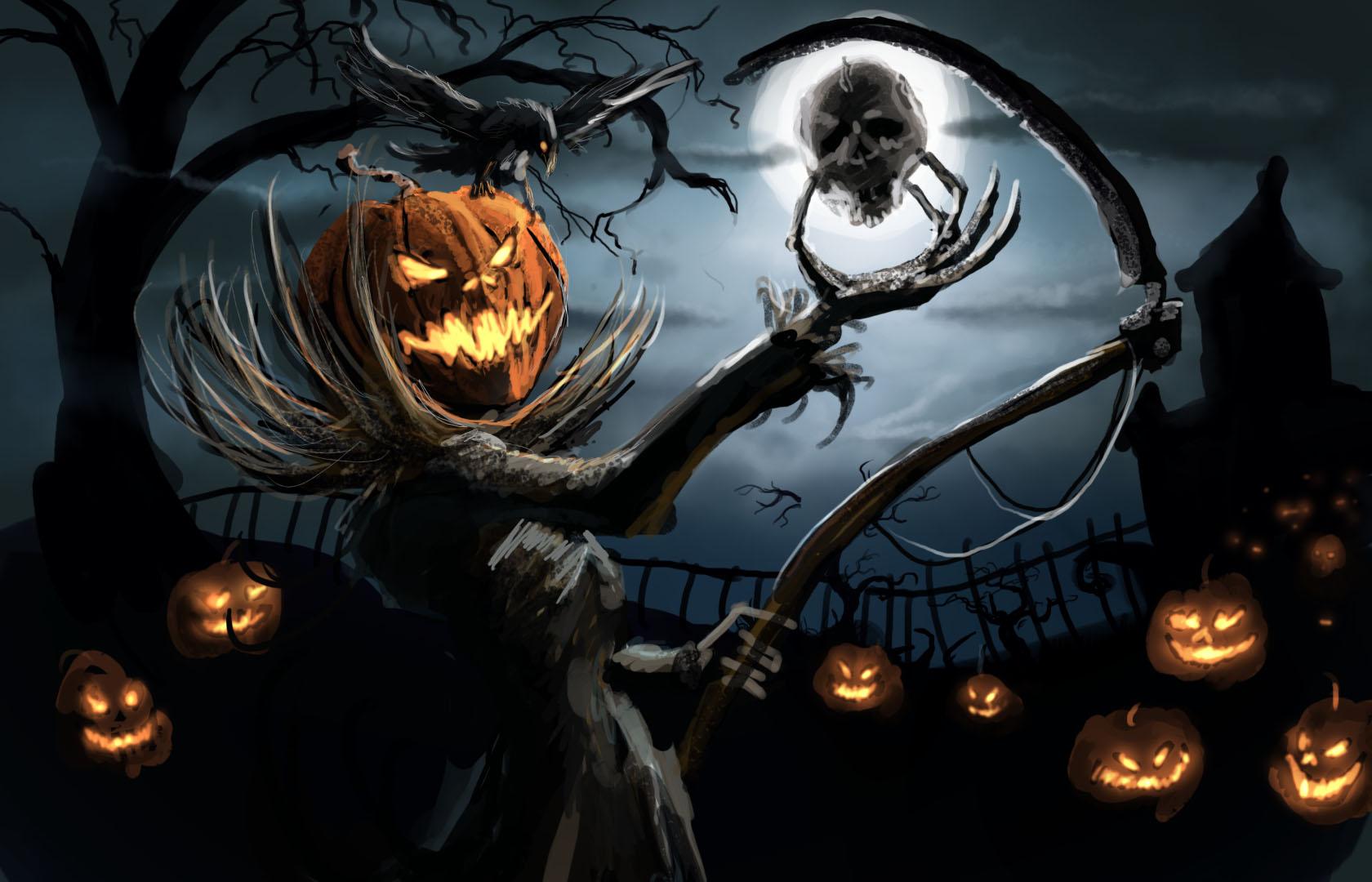 18 Image for Desktop: Creepy Halloween