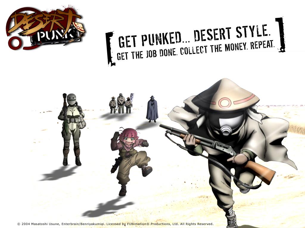 Desert Punk Wallpaper