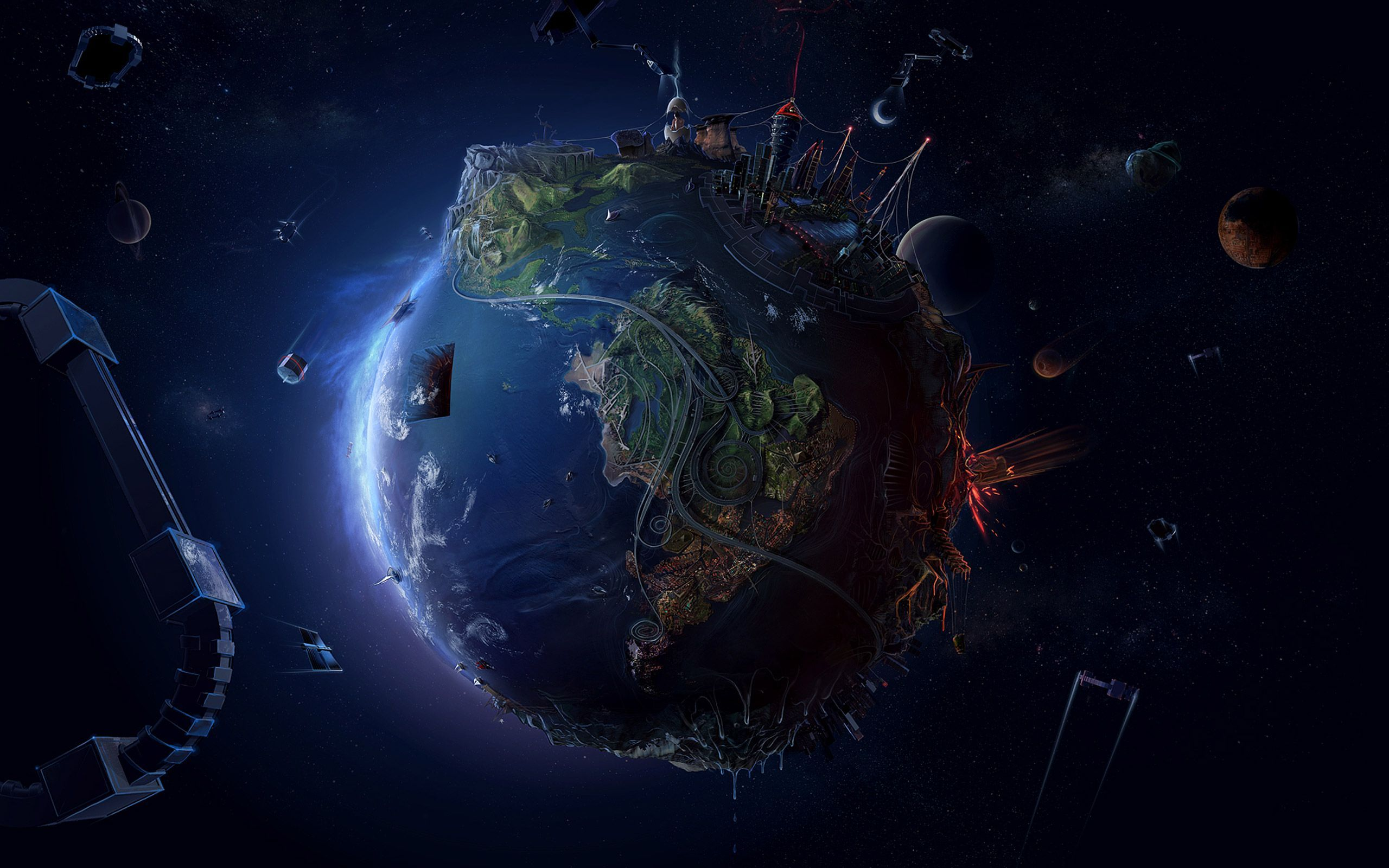 HQFX Earth Best Earth Wallpapers