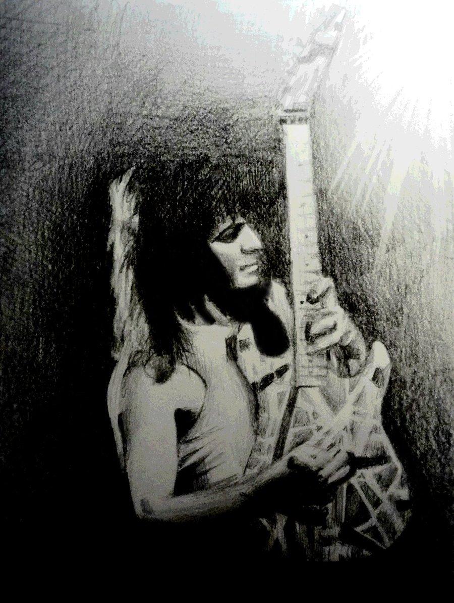 Van Halen Heavy Metal Hard Rock Bands Concert Guitar M