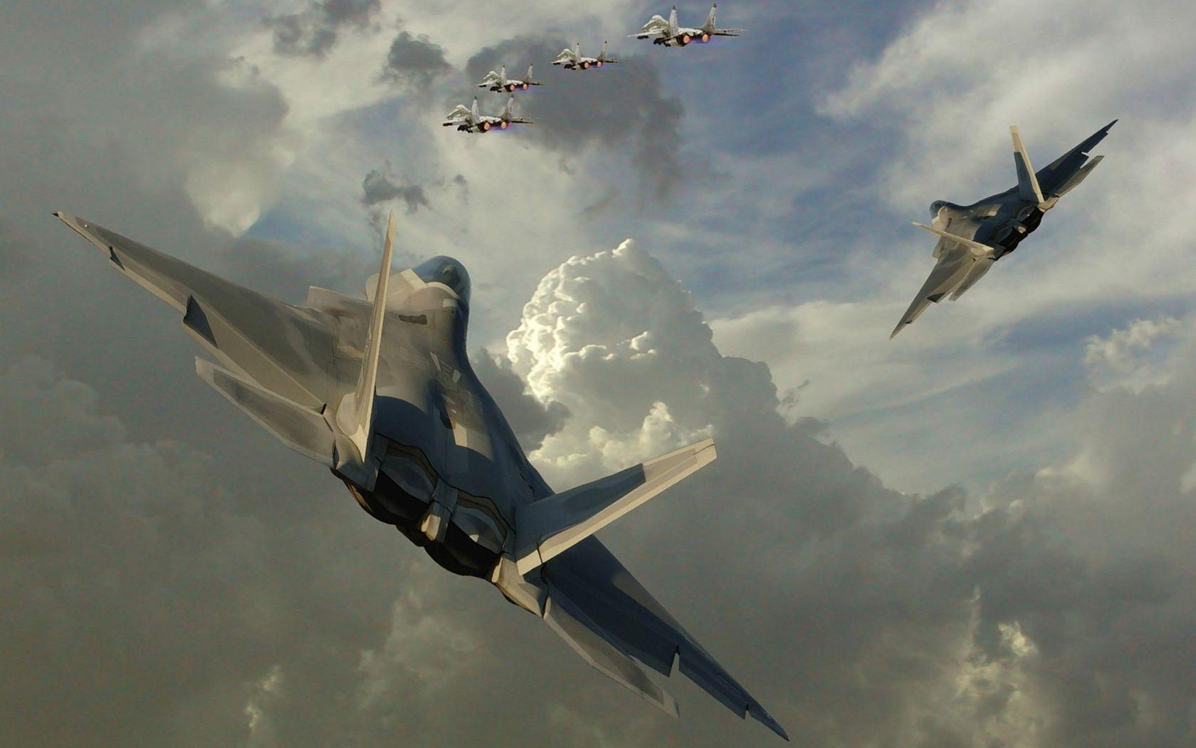 Lockheed Martin F-22 Raptor [2] wallpaper - Aircraft wallpapers ...