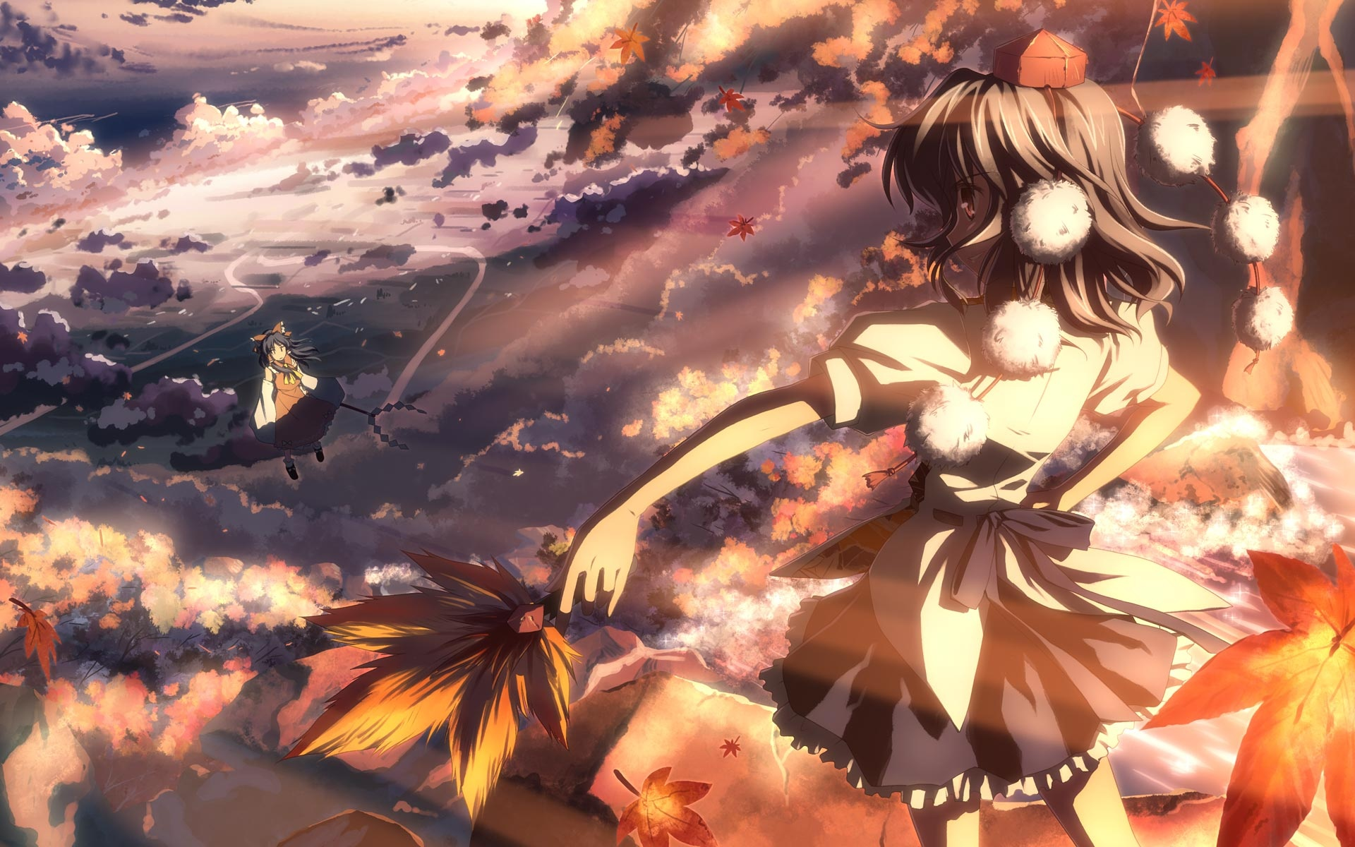 fall-anime-wallpaper