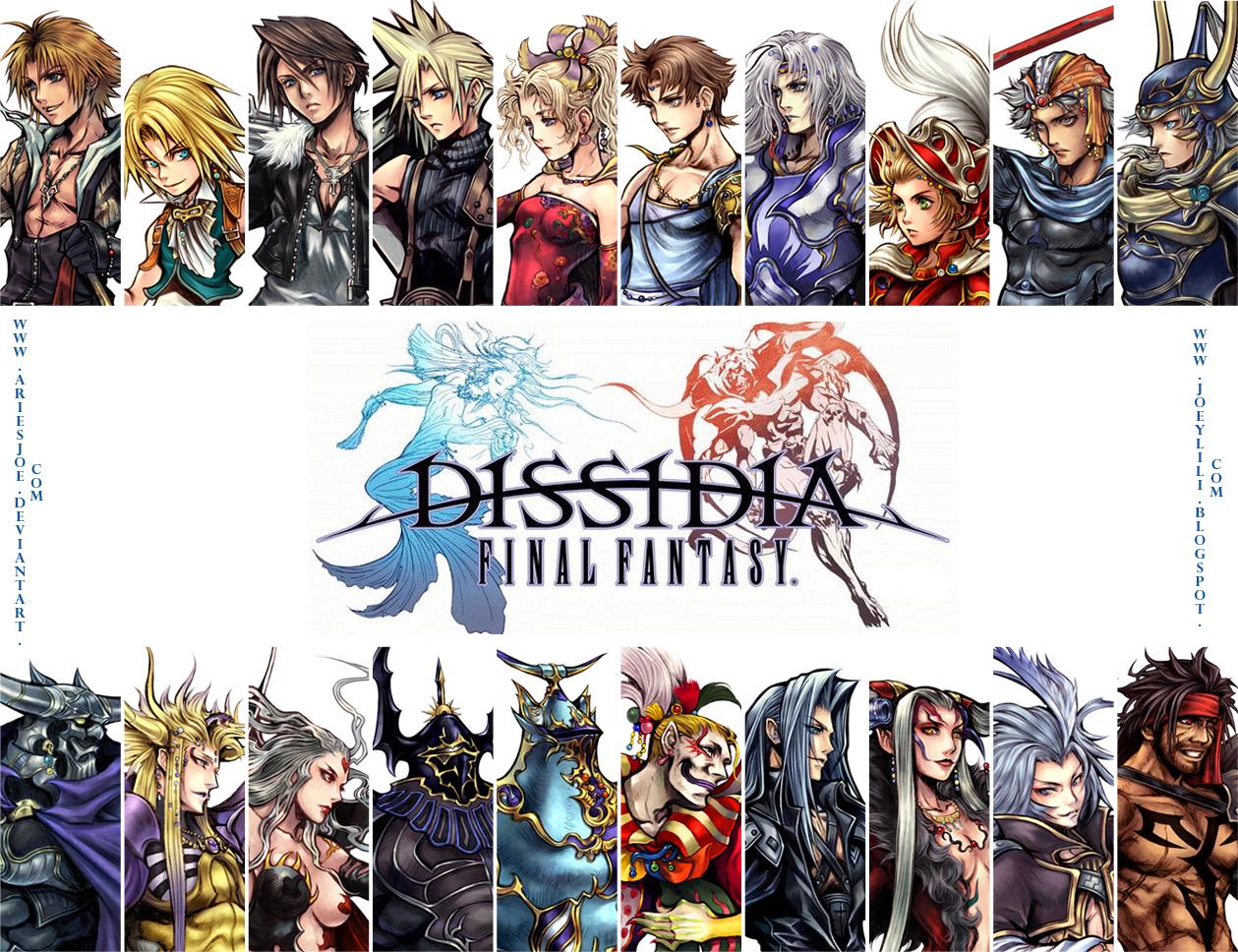 Final fantasy dissidia wallpaper cloud