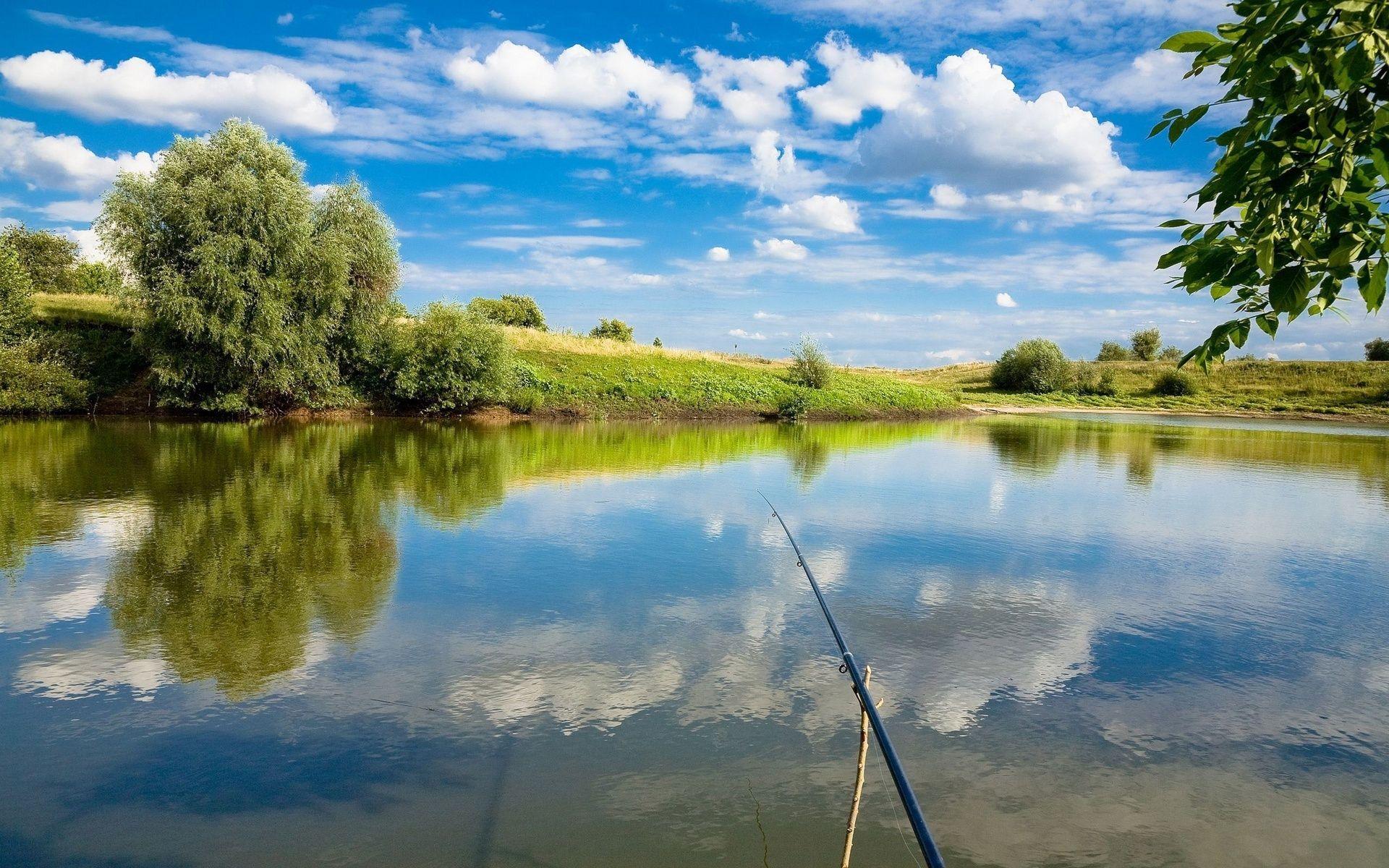 рыбалка на озере городенское