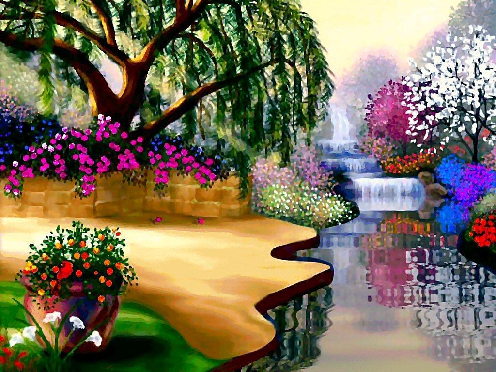 flower garden photos - Flower Garden Wallpaper