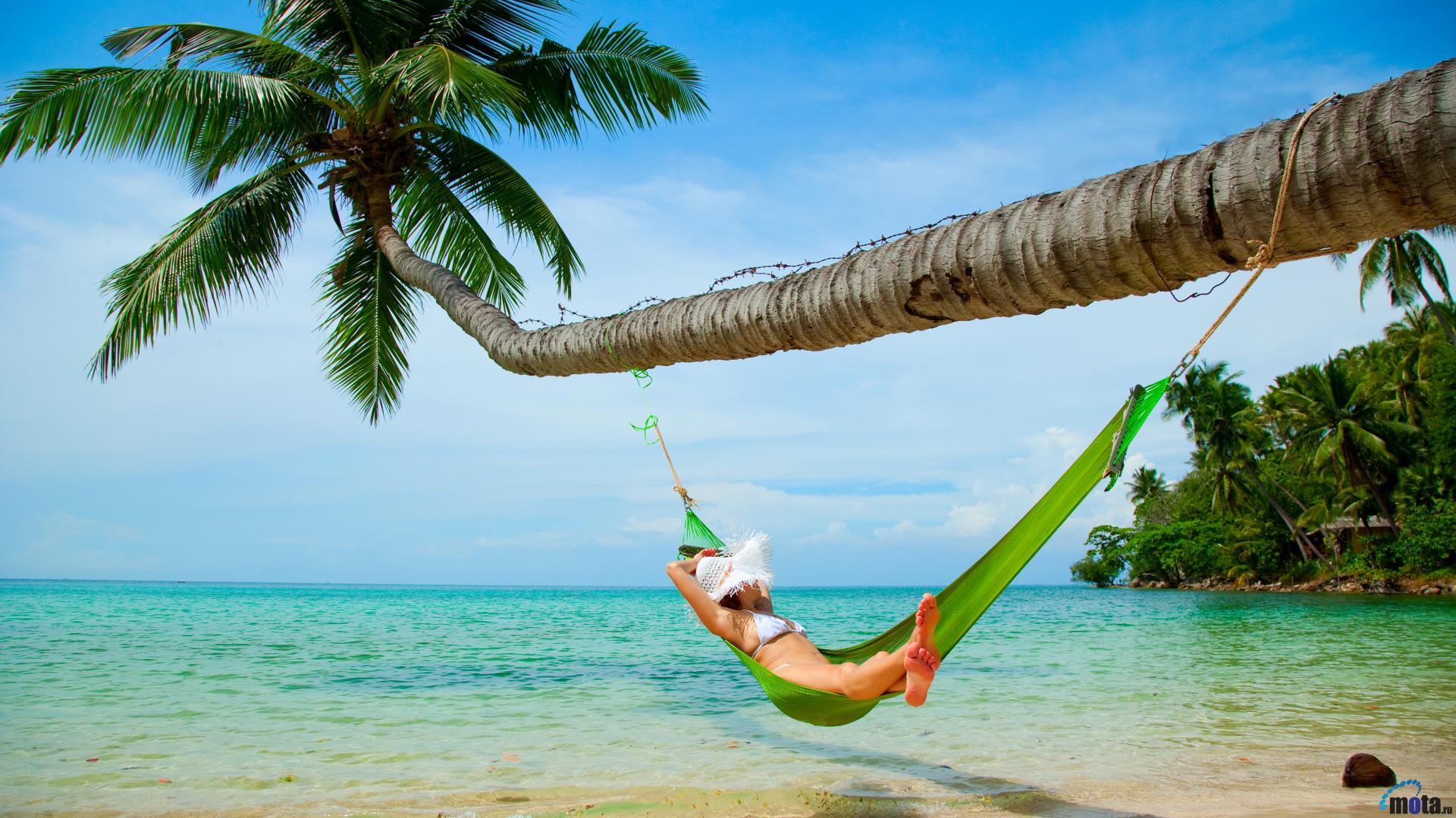 Tropical Drink On A Beach Wallpaper WallDevil