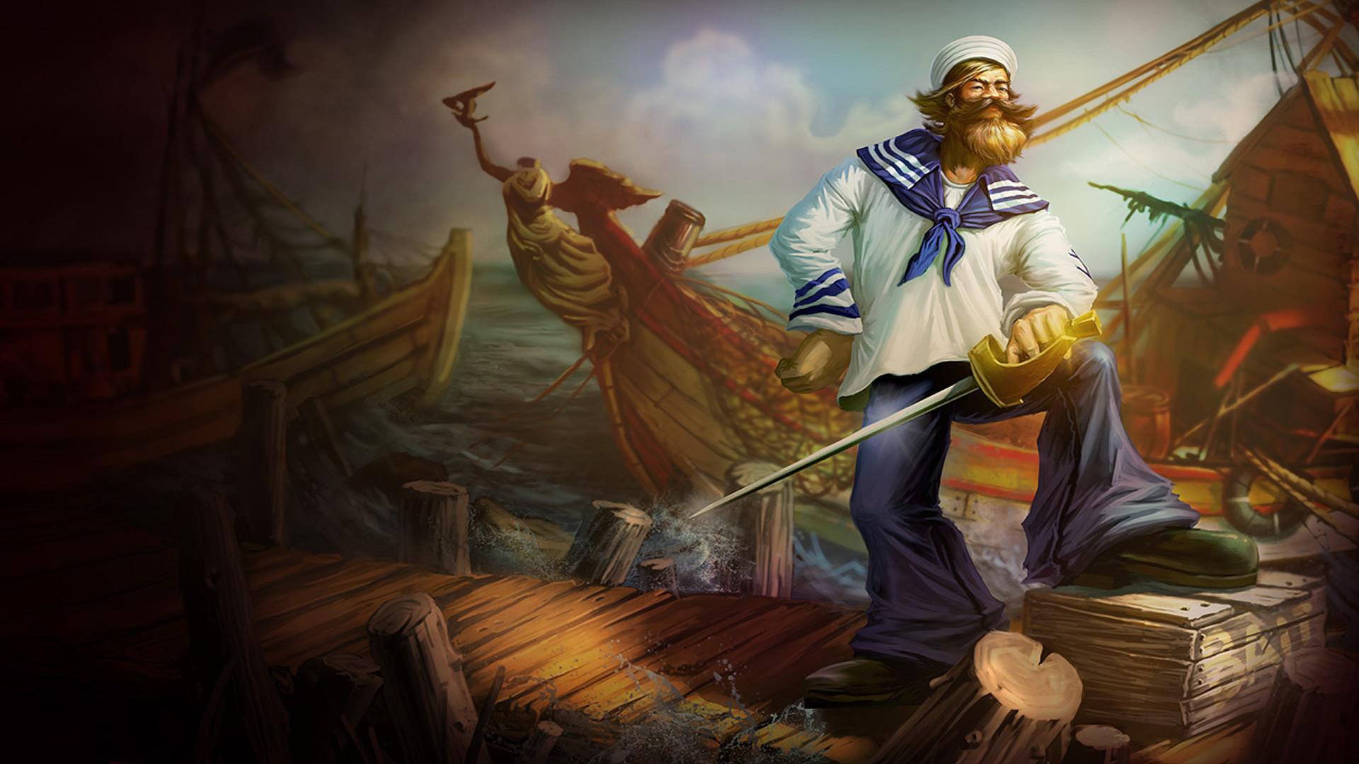 Gangplank - League of Legends Wallpapers