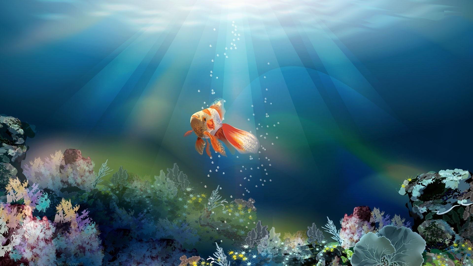 музыкальная заставка к сказке о рыбаке и рыбке