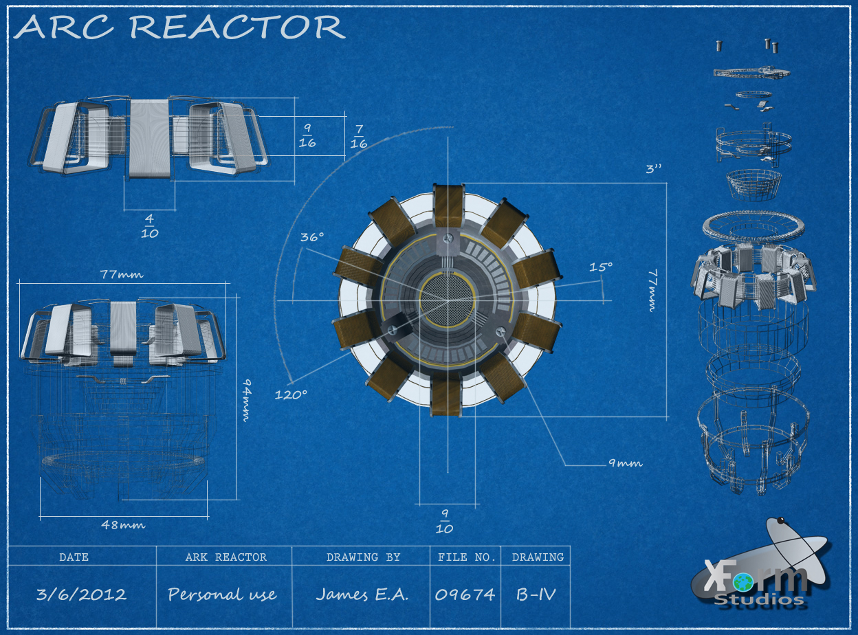 Смотреть как сделать реактор железного человека