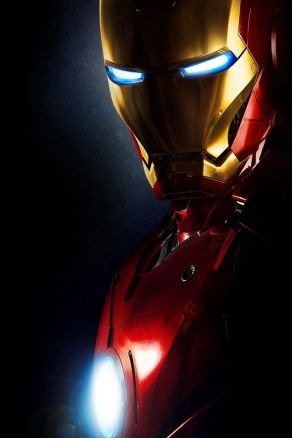 Iron Man Phone Photo