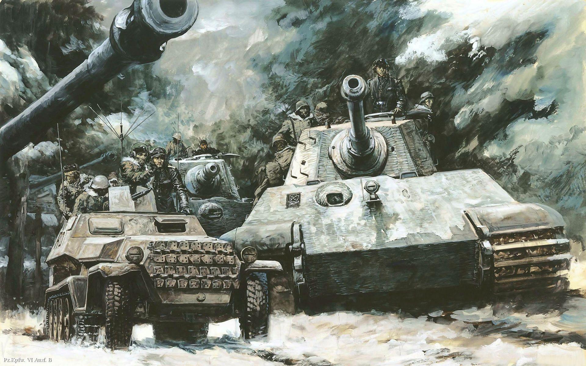 King Tiger Wallpaper