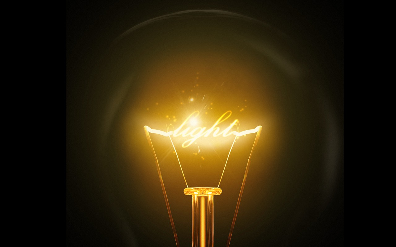 download electric bulb wallpaper | collection 7+ wallpapers, Powerpoint templates