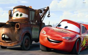 Wallpaper Lightning McQueen