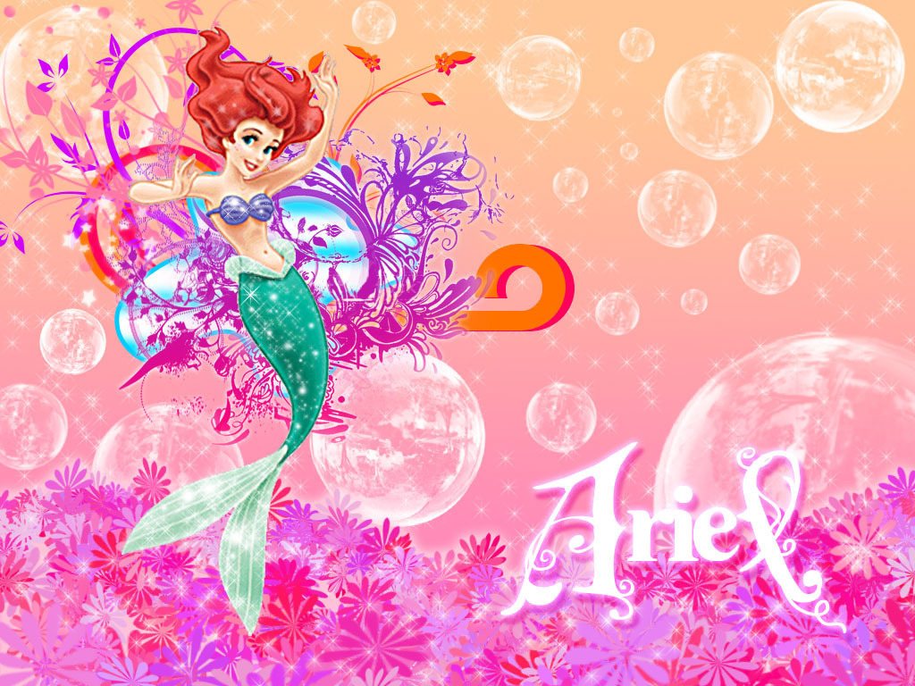 Widescreen Wallpapers Of Little Mermaid Nice Cover