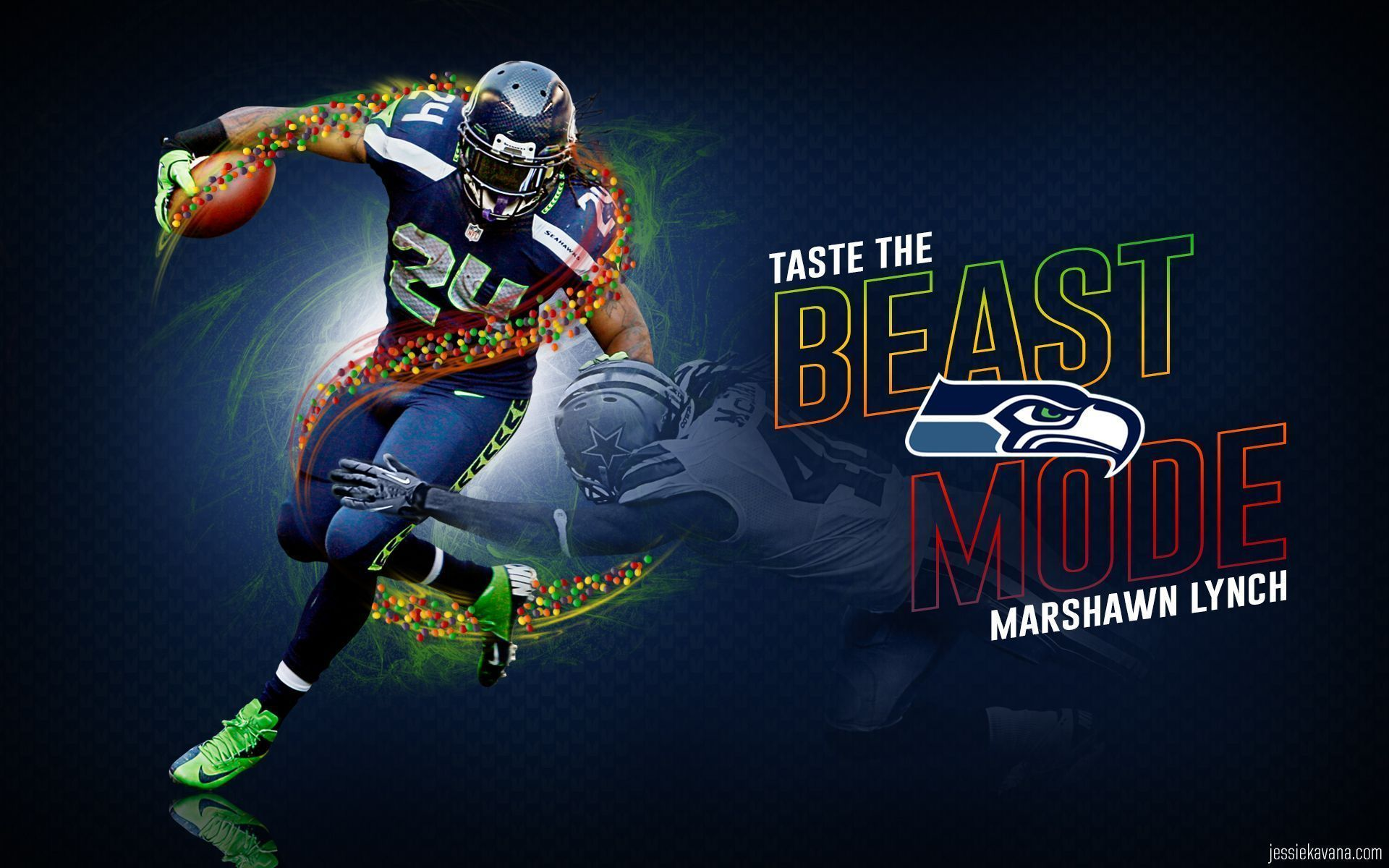 Marshawn Lynch HD wallpaper for download