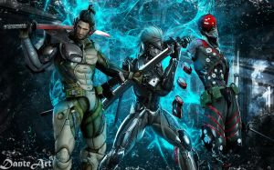 Metal Gear Rising Wallpaper HD