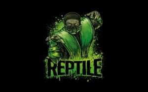 Mortal Kombat Reptile Wallpapers