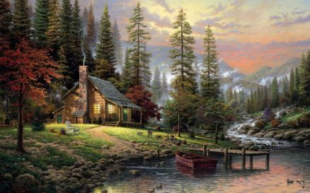 Images Of Mountain Cabin