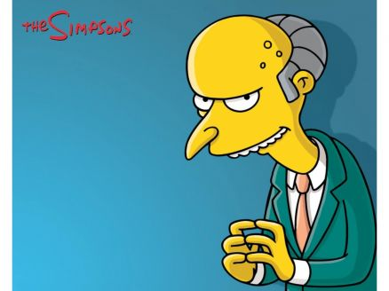 Wallpaper Mr Burns