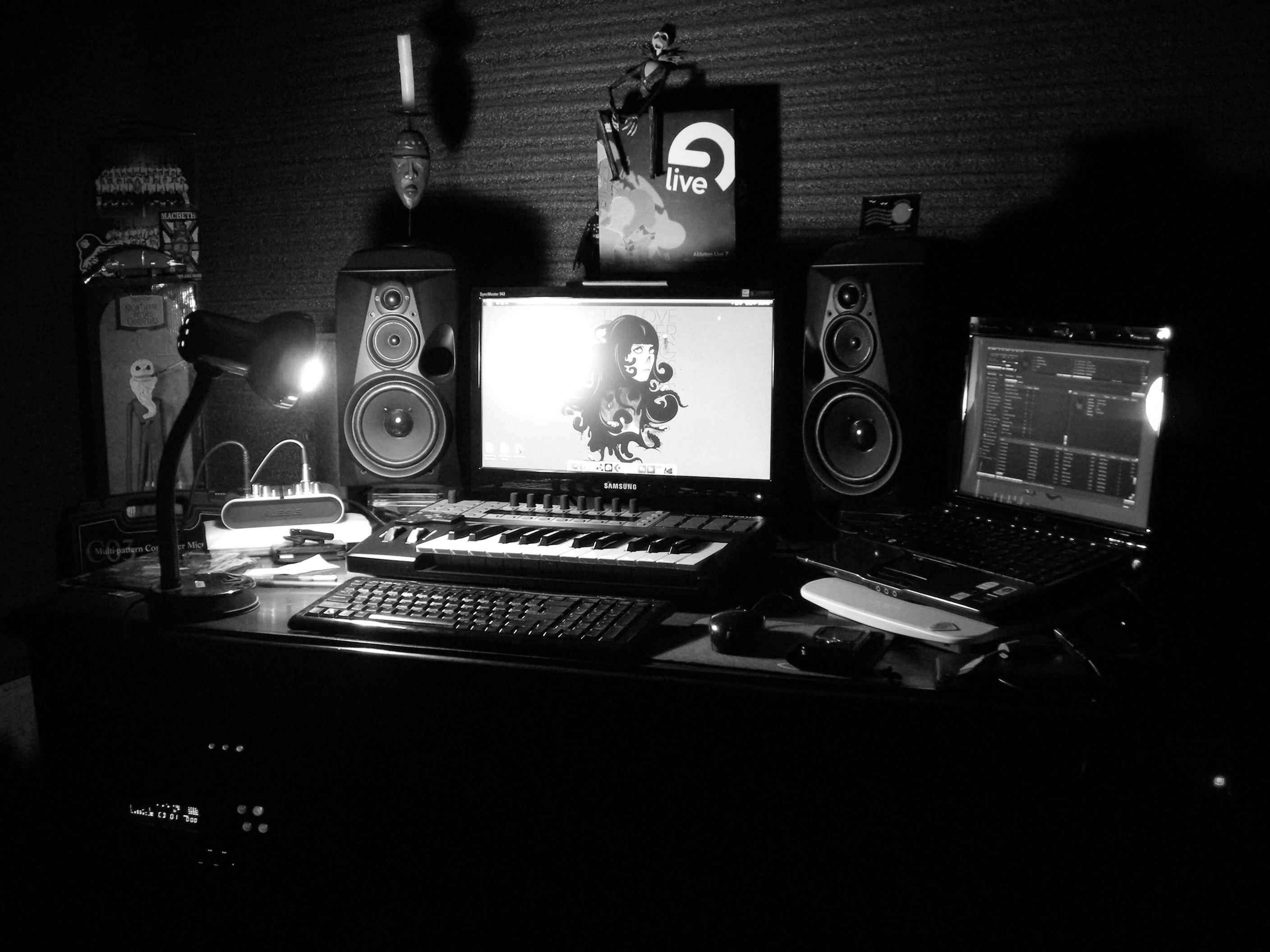 music studio widescreen wallpapers for free