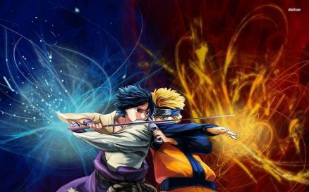 Naruto Vs Sasuke Wallpaper HD
