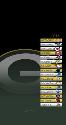 NFL Schedule Picture