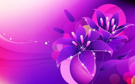 Pink And Purple Wallpaper