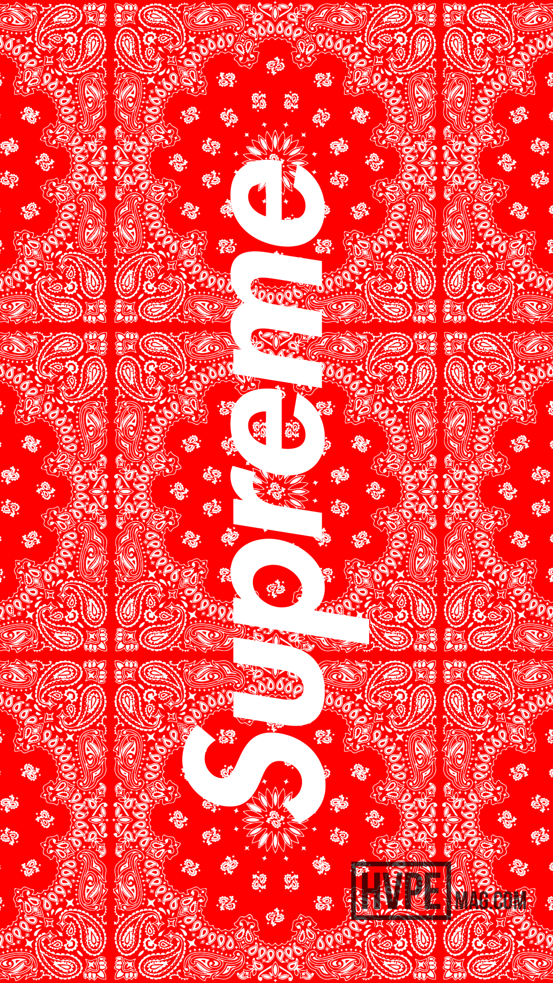 Red Bandana Wallpaper for Iphone