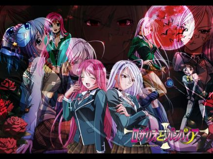 Rosario Vampire Wallpaper