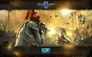 Sarah Kerrigan Wallpaper
