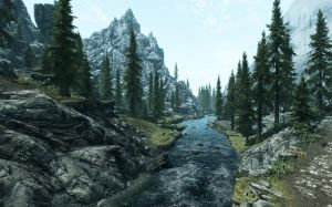 Skyrim Landscape Photo