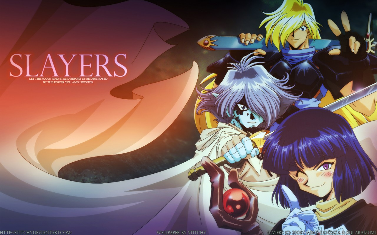 Slayers - High Resolution Images