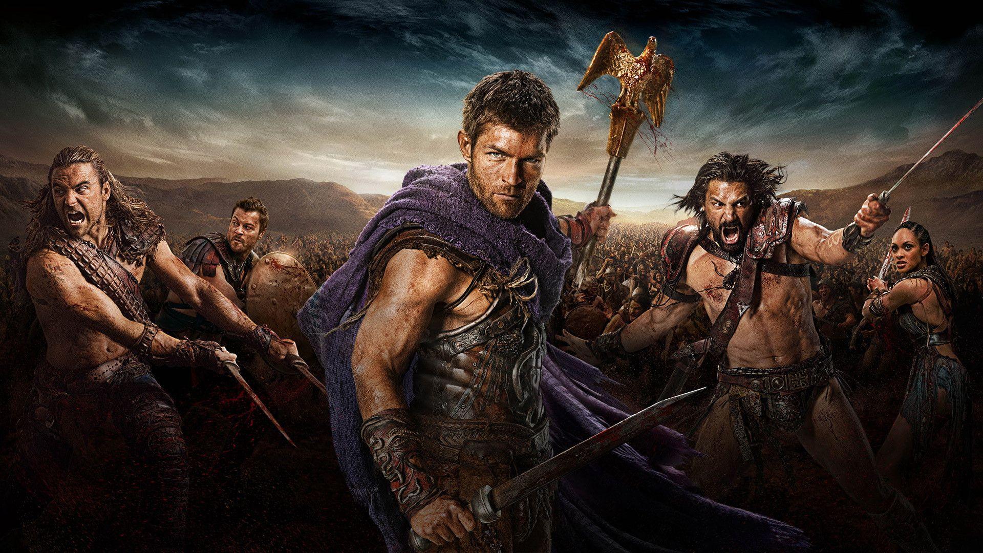Скачать обои крикса из сериалам спартак боги арены 4