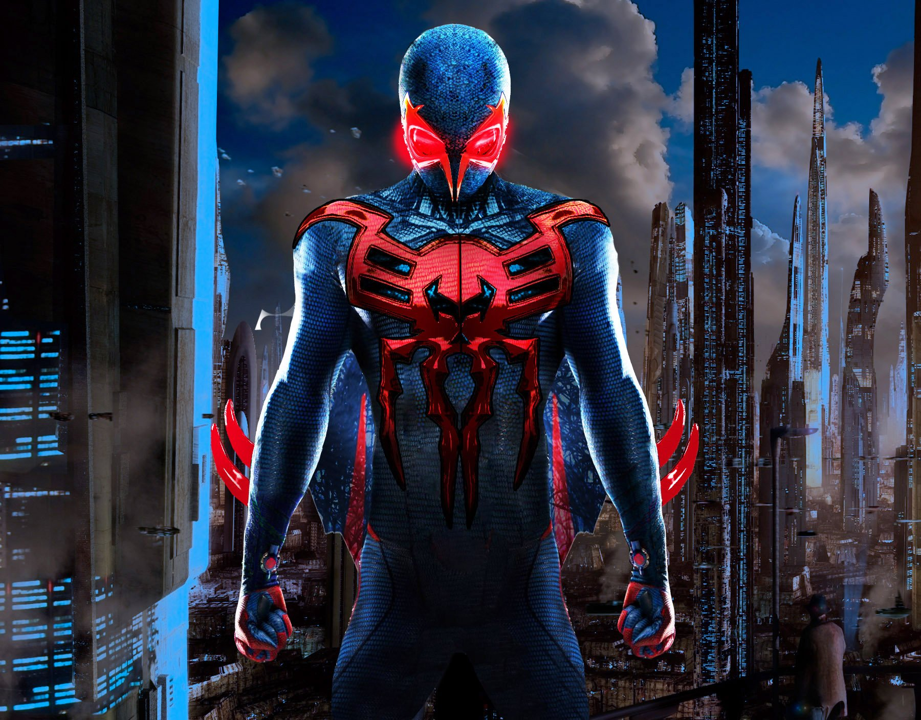 group of amazing spiderman movie wallpaper